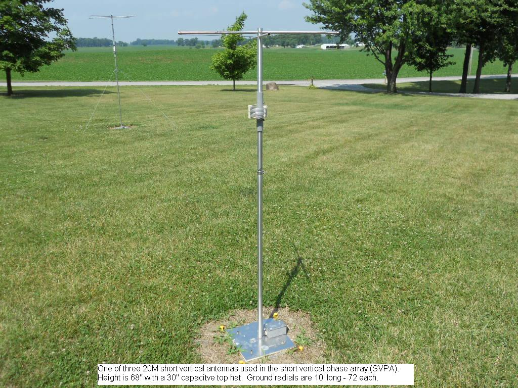 Phasing Short HF Vertical Antennas - The Clark County